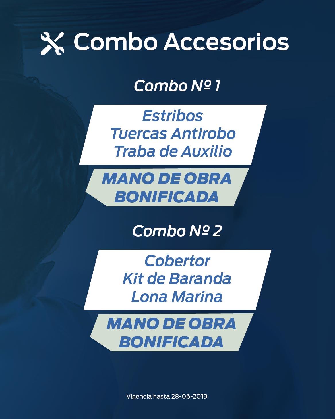 Promo Servicio Combo accesorios (06/06/2019)